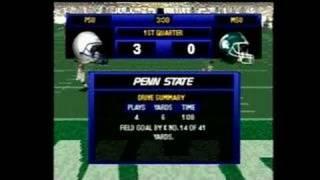 NCAA Football 2000 PlayStation Gameplay_1999_05_27_1
