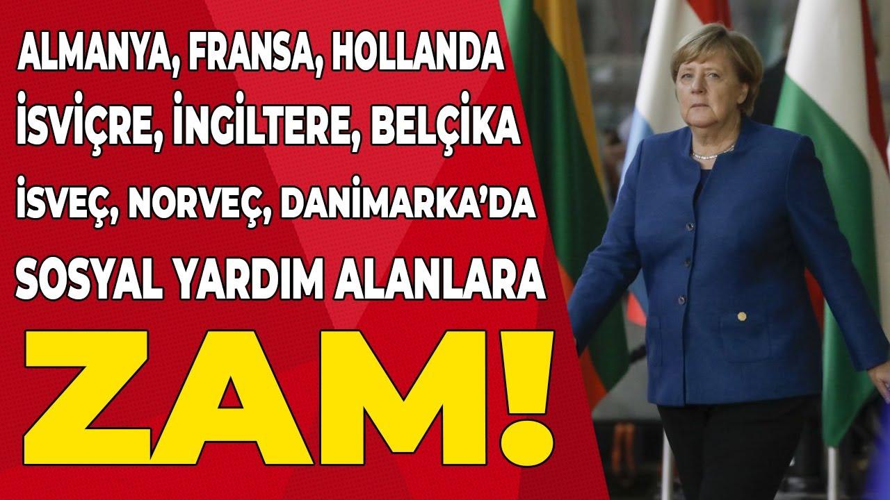Avrupa'da yaşayan ve sosyal yardım alanlar için ACİL ZAM! Son dakika Türkçe haberler Emekli TV'de