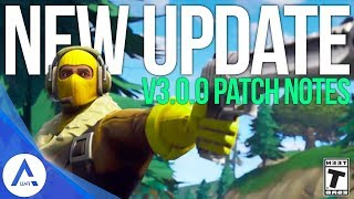 Fortnite: Update Patch Notes 3.0.0 - Saison 3, Hand Cannon, Battle Pass, 60fps, HoverBoard, Building