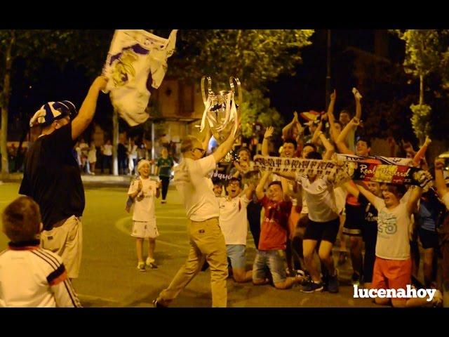Vídeo Noticia: Los aficionados del Real Madrid celebran la undécima Champion en el Recinto Ferial