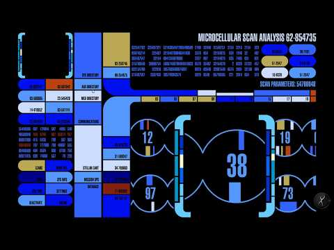 Lcars star trek computer interface 47 6 3 (Prolixus)