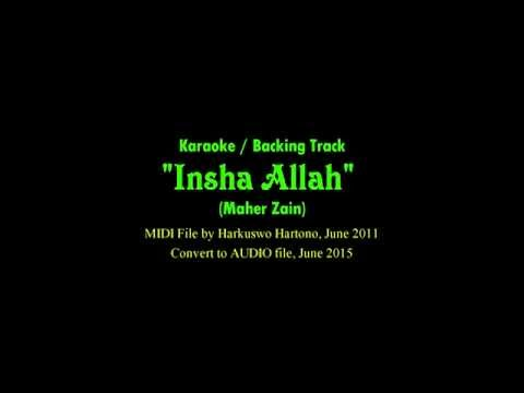 INSHA ALLAH by Maher Zein Backing Track Karaoke Music