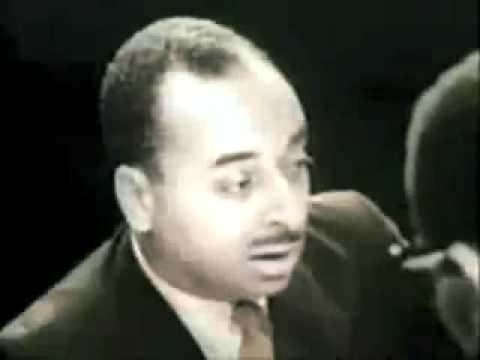Malcolm X - 01 - Debate with James Farmer, Alan Morrison and Wyatt Tee Walker