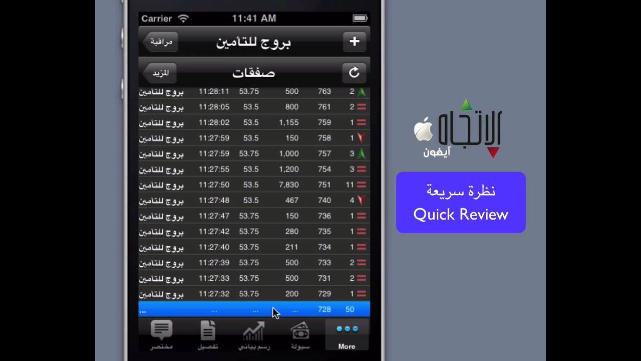 Ettijah Iphone Review تطبيق الاتجاه للايفون Youtube