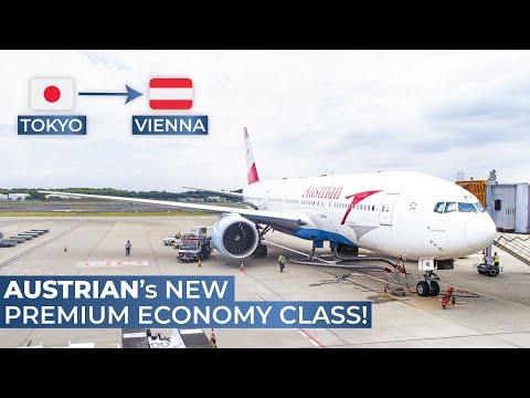 TRIPREPORT | Austrian Airlines (PREMIUM ECONOMY) | Tokyo Narita - Vienna | Boeing 777-200