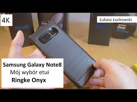 Najładniejsze Etui/Case dla Samsung Galaxy Note8 | Ringke Onyx Rzut Okiem