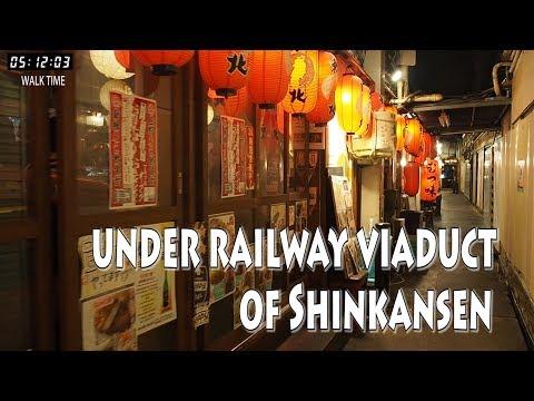 TOKYO. | Under railway viaduct.  From Yurakucho Sta.To Shimbashi Sta,