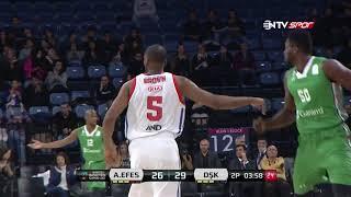 Basketbol Süper Ligi 13. Hafta:  Anadolu Efes - Darüşşafaka Basketbol