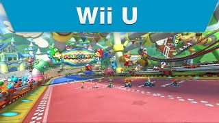 Wii U - Mario Kart 8 Baby Park Course Trailer