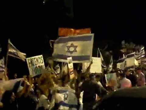 Armenians in Israel protest with Israelis against Turkey