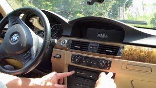 Comment redémarrer l'iDrive sur BMW E90