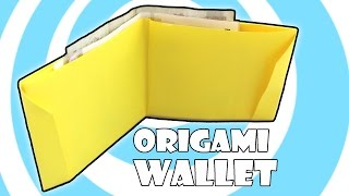 DIY: Printing Paper Origami Wallet Instructions (Laura Kruskal)
