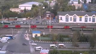 ДТП на переезде Щербинка 26.08.2013