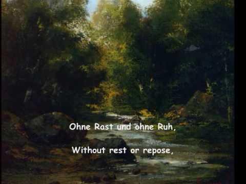 """Franz Schubert - """"An den Mond"""", D. 296 (Goethe) Fischer-Dieskau, Moore"""