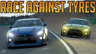 Gran Turismo Sport: A Race Against Tyres.... and Getting Shoved Wide