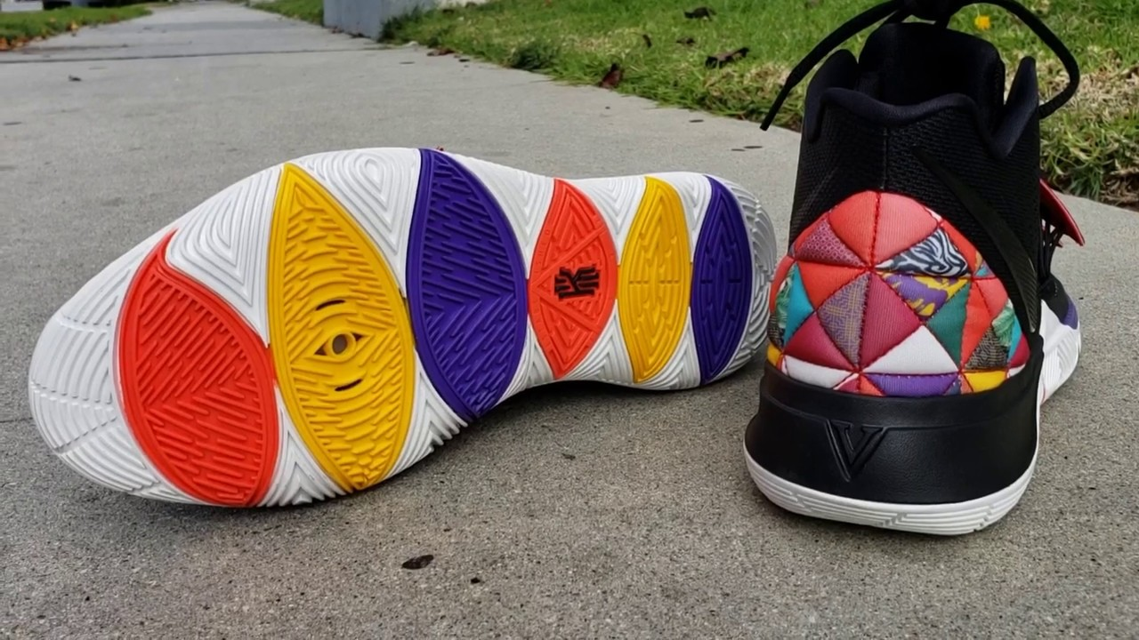 5598212d710f NIKE KYRIE 5  CHINESE NEW YEAR  DETAILED SNEAKER REVIEW + ON FEET ...