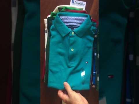 Videos da RImports - Camisas Polo Tommy Hilfiger Masculina
