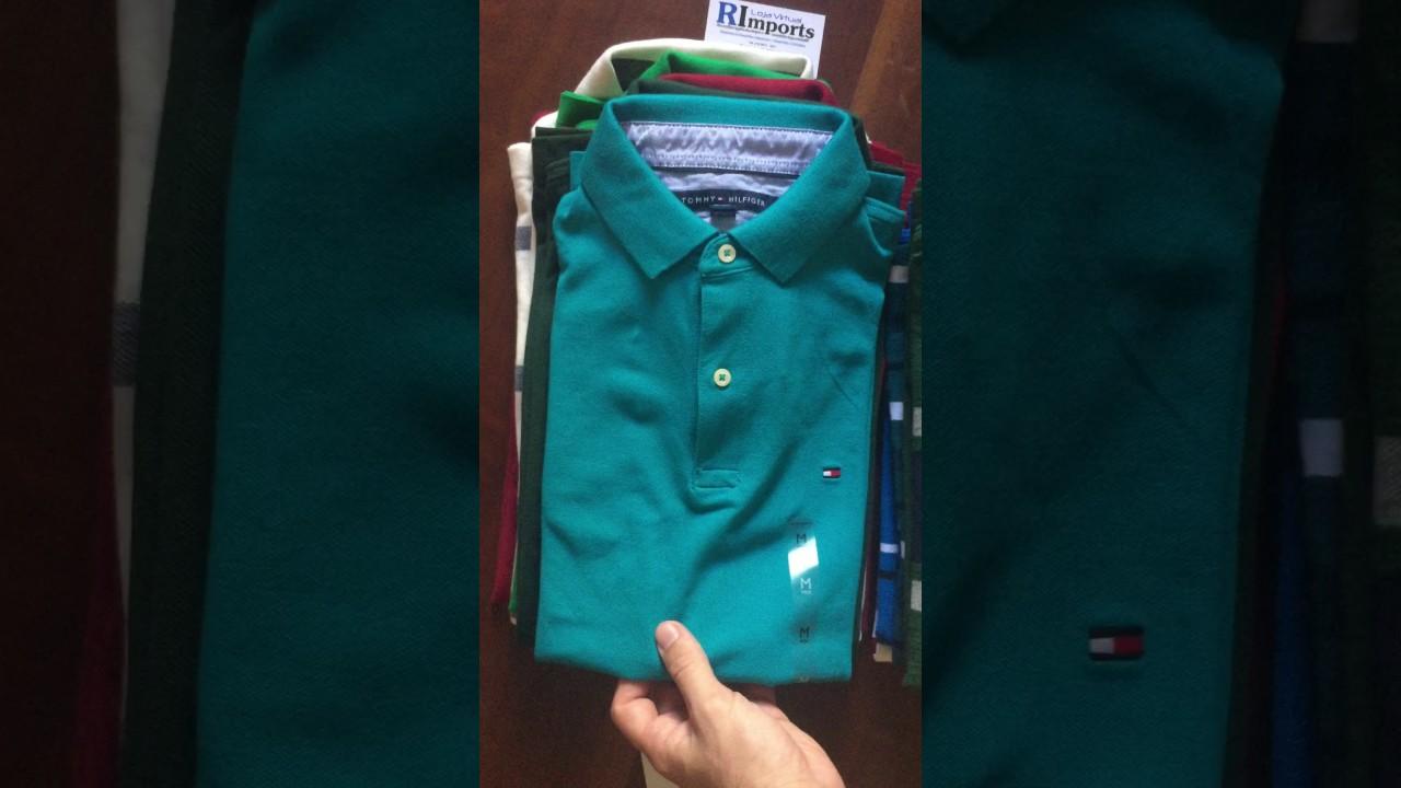 4b47d01513 Videos da RImports - Camisas Polo Tommy Hilfiger Masculina - YouTube