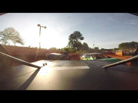 East Lincoln Speedway 6-15-19 Stock 4 Rear Cam Heat Race Alexus Motes