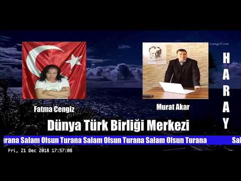 Salam Olsun Turana-Dünya Türk Birliği Merkezi-Murat Akar