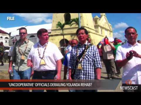 'Uncooperative' officials derailing Yolanda rehab?