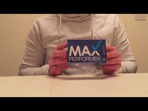 Max Performer Review - Male Enhancement Pills