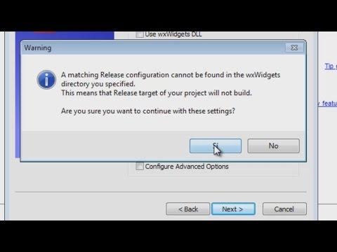 Instalando y configurando wxWidgets, CodeBlocks y el compilador tdm-gcc