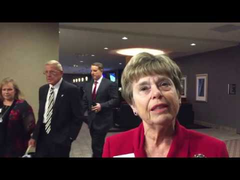 Republican Party Chair at Lincoln Reagan Dinner
