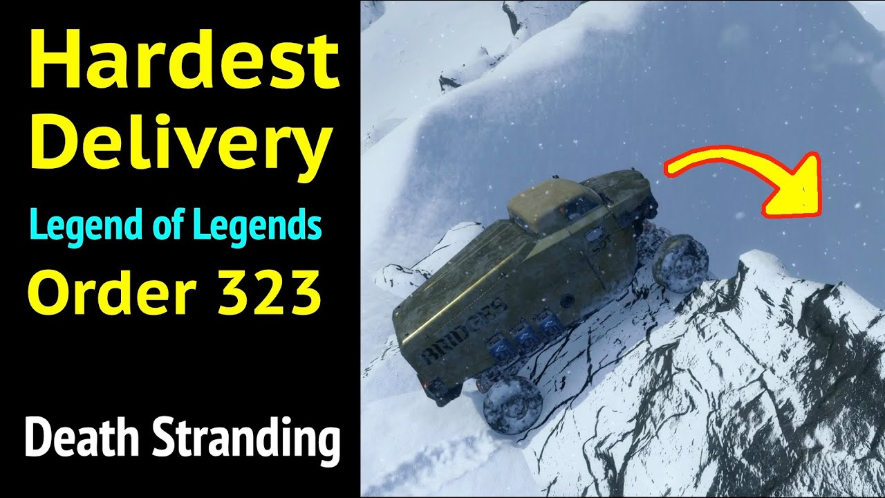 Hardest Delivery (Order 323) in Death Stranding: Legend of Legends (Premium Hard Difficulty) thumbnail