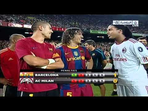 Penalties Barcelona 3-1