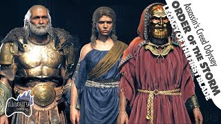 Where are the Order of the Storm Shadow Heritage Cultist Location Found | Assassin's Creed Odyssey