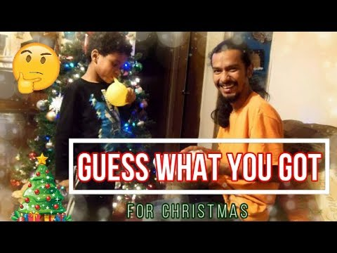 Guess what I got you for christmas| Interracial family| Biracial family