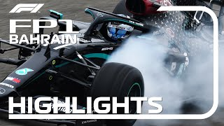 2020 Bahrain Grand Prix: FP1 Highlights
