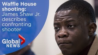 Waffle House shooting: FULL press conference with 'hero' who stopped gunman