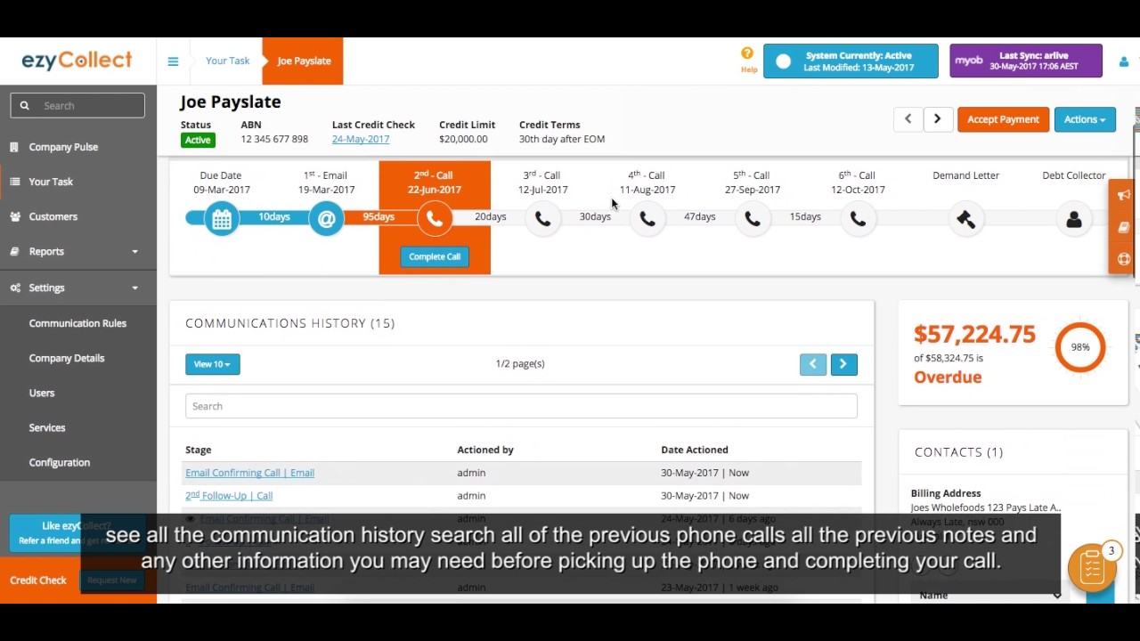 EzyCollect Accounts Receivable And Invoice Reminder Software YouTube - Invoice reminder software