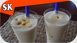 Passion Fruit And Banana Smoothie - Smoothie Tuesday 011
