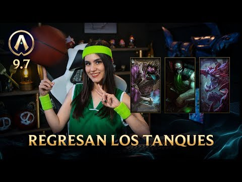 [Versión 9.7] Actualizando: Regresan los tanques  League of Legends thumbnail