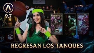 [Versión 9.7] Actualizando: Regresan los tanques| League of Legends
