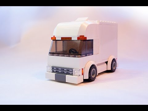 Lego Moc City Truck Building Instructions Youtube