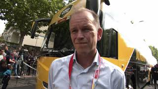 Richard Plugge (General Manager Jumbo Visma) - interview at the start - s 21 - Vuelta a España 2019