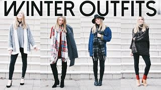 Go To Winter Outfits | Winter OOTW! Cozy Winter Outfits 2016!