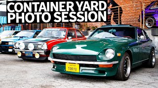 Lambo to JDM Legends: Container Yard Car Photography Session With Larry Chen