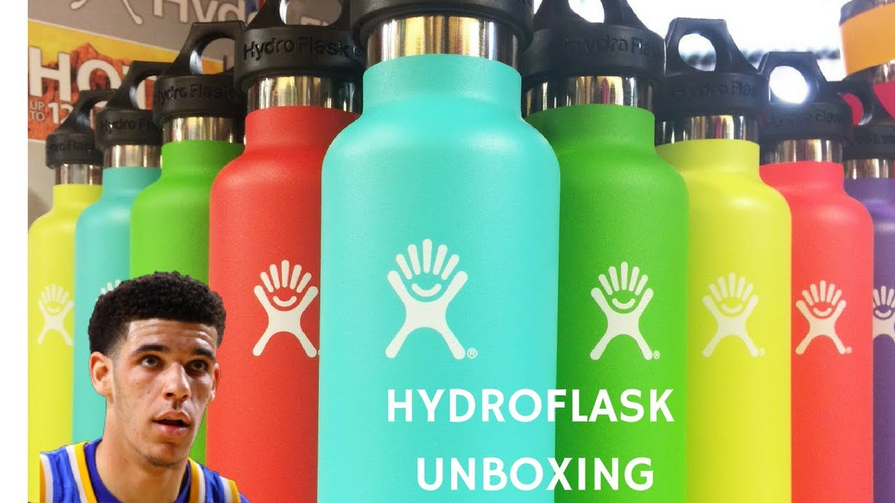 HYDROFLASK UNBOXING!