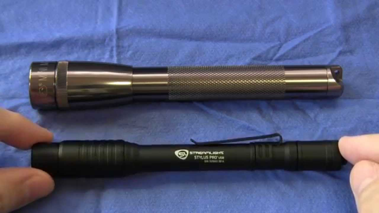 Streamlight Stylus Pro Usb Review And Comparison With Aa