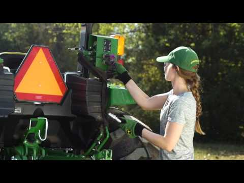 Frontier Equipment: How to maintain a gravel drive using a box blade with hydraulic scarifiers