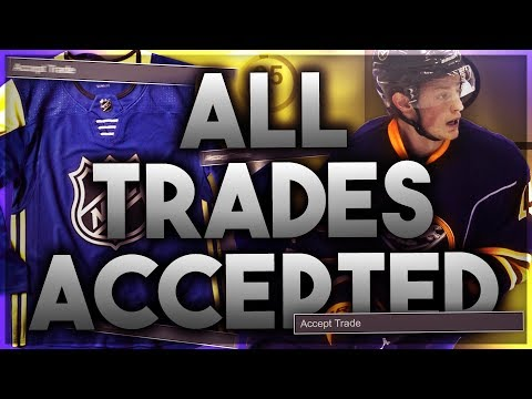 ACCEPTING ALL TRADES WITH THE ATLANTIC ALL STARS (NHL 18 FRANCHISE MODE CHALLENGE)