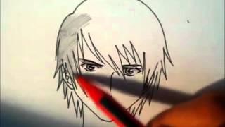 Как рисовать магну/учебник как рисовать парня(Если много смотреть видео такого типа...то можно спокойно научится рисовать аниме!, 2012-06-01T20:42:01.000Z)