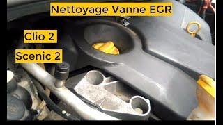 TUTO : Nettoyage Vanne Scenic 2 1.5 DCI