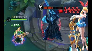Mobile Legends Layla 100% Crit + Bunny girl Skin Gameplay