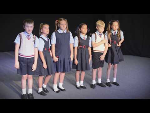 The School Song from Matilda by Acting Up! Youth Theatre Academy